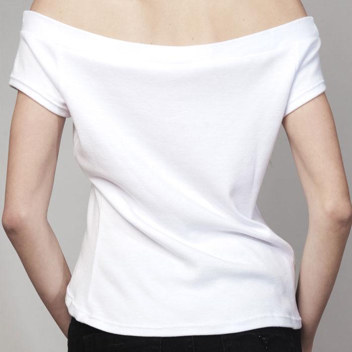 Golgotha Shirt Custom Ladies Queen White
